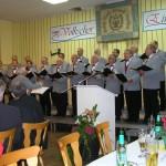 """Singen zum 130 jährigem Jubiläum des Partnerchores """"Eintracht"""""""