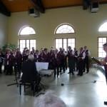 gemeinsames Singen zum Frühlingskonzert 2012