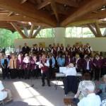 Eröffnungskonzert der Saison 2012 - gemeinsames Singen aller Chöre