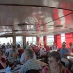 """Kaffee und Kuchen auf dem Schiff """"MS Vineta"""""""