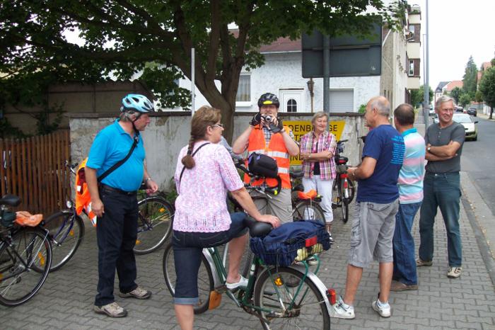 Der Start zur Radpartie